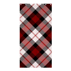 Smart Plaid Red Shower Curtain 36  x 72  (Stall)
