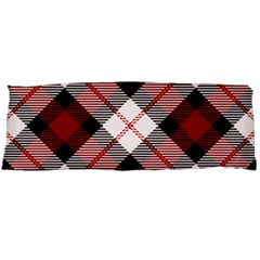 Smart Plaid Red Body Pillow Cases Dakimakura (Two Sides)