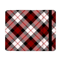 Smart Plaid Red Samsung Galaxy Tab Pro 8 4  Flip Case
