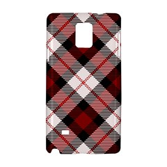 Smart Plaid Red Samsung Galaxy Note 4 Hardshell Case