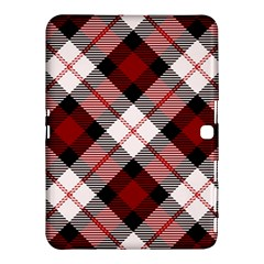 Smart Plaid Red Samsung Galaxy Tab 4 (10.1 ) Hardshell Case