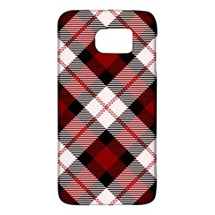 Smart Plaid Red Galaxy S6