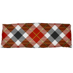 Smart Plaid Warm Colors Body Pillow Cases Dakimakura (Two Sides)