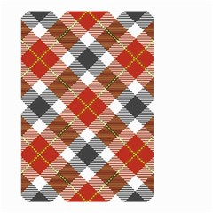 Smart Plaid Warm Colors Small Garden Flag (Two Sides)