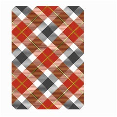 Smart Plaid Warm Colors Large Garden Flag (Two Sides)
