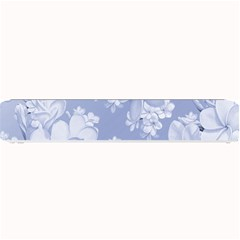 Delicate Floral Pattern,blue  Small Bar Mats