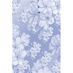 Delicate Floral Pattern,blue  5.5  x 8.5  Notebooks