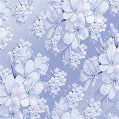 Delicate Floral Pattern,blue  Magic Photo Cubes