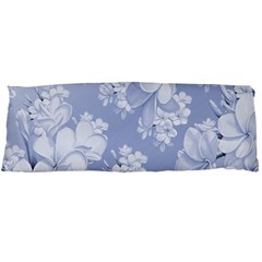 Delicate Floral Pattern,blue  Body Pillow Cases Dakimakura (Two Sides)