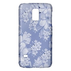 Delicate Floral Pattern,blue  Galaxy S5 Mini
