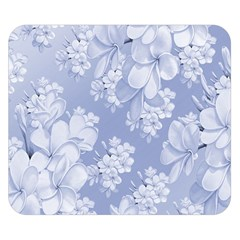 Delicate Floral Pattern,blue  Double Sided Flano Blanket (Small)