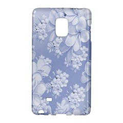 Delicate Floral Pattern,blue  Galaxy Note Edge