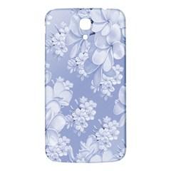 Delicate Floral Pattern,blue  Samsung Galaxy Mega I9200 Hardshell Back Case