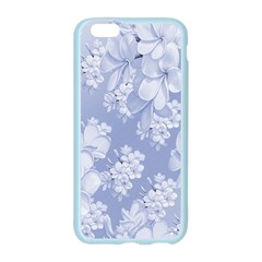 Delicate Floral Pattern,blue  Apple Seamless iPhone 6 Case (Color)
