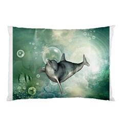 Funny Dswimming Dolphin Pillow Cases