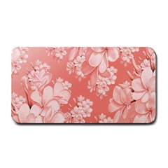Delicate Floral Pattern,pink  Medium Bar Mats
