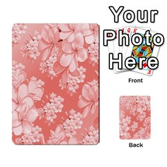 Delicate Floral Pattern,pink  Multi-purpose Cards (Rectangle)