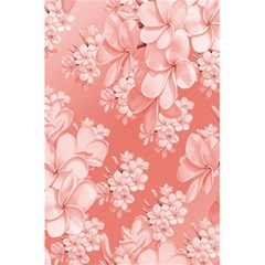 Delicate Floral Pattern,pink  5.5  x 8.5  Notebooks