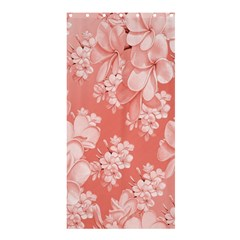 Delicate Floral Pattern,pink  Shower Curtain 36  x 72  (Stall)