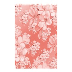 Delicate Floral Pattern,pink  Shower Curtain 48  x 72  (Small)