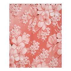 Delicate Floral Pattern,pink  Shower Curtain 60  x 72  (Medium)