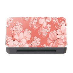 Delicate Floral Pattern,pink  Memory Card Reader with CF
