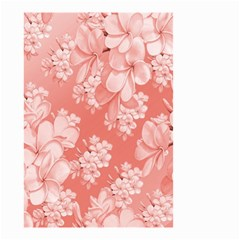 Delicate Floral Pattern,pink  Small Garden Flag (Two Sides)