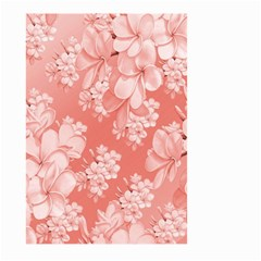 Delicate Floral Pattern,pink  Large Garden Flag (Two Sides)