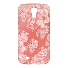 Delicate Floral Pattern,pink  Samsung Galaxy S4 I9500/i9505 Hardshell Case