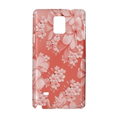 Delicate Floral Pattern,pink  Samsung Galaxy Note 4 Hardshell Case