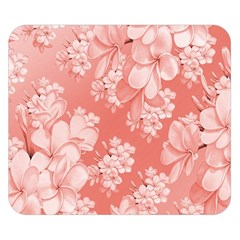 Delicate Floral Pattern,pink  Double Sided Flano Blanket (Small)