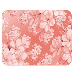 Delicate Floral Pattern,pink  Double Sided Flano Blanket (Medium)