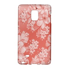 Delicate Floral Pattern,pink  Galaxy Note Edge