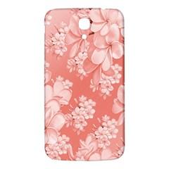 Delicate Floral Pattern,pink  Samsung Galaxy Mega I9200 Hardshell Back Case