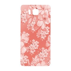 Delicate Floral Pattern,pink  Samsung Galaxy Alpha Hardshell Back Case