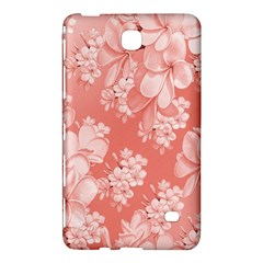 Delicate Floral Pattern,pink  Samsung Galaxy Tab 4 (8 ) Hardshell Case