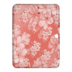 Delicate Floral Pattern,pink  Samsung Galaxy Tab 4 (10 1 ) Hardshell Case
