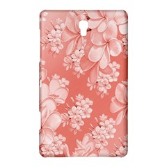 Delicate Floral Pattern,pink  Samsung Galaxy Tab S (8.4 ) Hardshell Case
