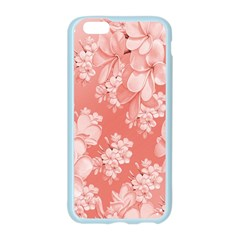 Delicate Floral Pattern,pink  Apple Seamless iPhone 6 Case (Color)