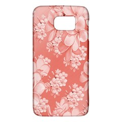 Delicate Floral Pattern,pink  Galaxy S6