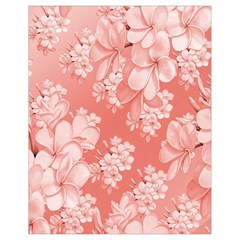 Delicate Floral Pattern,pink  Drawstring Bag (Small)