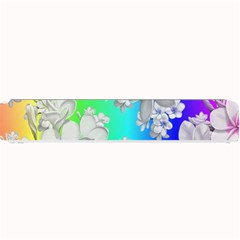 Delicate Floral Pattern,rainbow Small Bar Mats