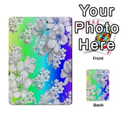 Delicate Floral Pattern,rainbow Multi-purpose Cards (Rectangle)