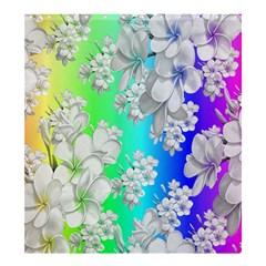 Delicate Floral Pattern,rainbow Shower Curtain 66  x 72  (Large)