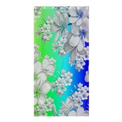 Delicate Floral Pattern,rainbow Shower Curtain 36  x 72  (Stall)
