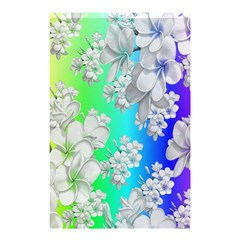 Delicate Floral Pattern,rainbow Shower Curtain 48  x 72  (Small)