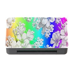 Delicate Floral Pattern,rainbow Memory Card Reader with CF