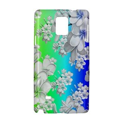 Delicate Floral Pattern,rainbow Samsung Galaxy Note 4 Hardshell Case
