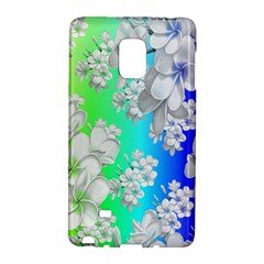Delicate Floral Pattern,rainbow Galaxy Note Edge