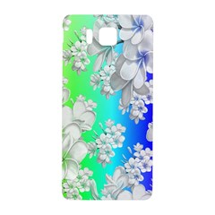 Delicate Floral Pattern,rainbow Samsung Galaxy Alpha Hardshell Back Case